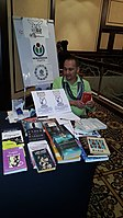 BookSwapping at Wikimania 2018 20180722 151806 (27).jpg