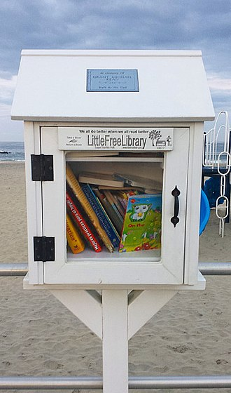 Avon-by-the-Sea, New Jersey - Avon encourages reading by making books accessible.