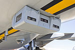 Boom Enhanced Vision System (BEVS) cameras fitted on RAAF (A39-002) Airbus KC-30A (A330-203MRTT) on display at the 2013 Avalon Airshow (1).jpg