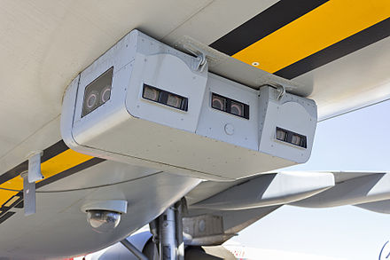 Cameras in place of a visual boom control station as used on an Australian KC-30A. - Aerial refueling