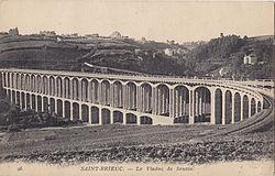 Borel 26 - SAINT-BRIEUC - Le Viaduc de Souzin.jpg