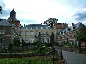 South Limburg (Netherlands) - Borgharen Castle in the town of Borgharen in the estate region.