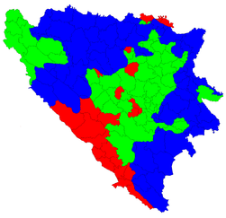 Bosnia and Herzegovina municipal elections 2008 result.png
