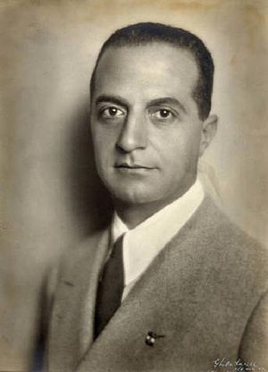 Giuseppe Bottai - Giuseppe Bottai as Minister of Education, 1937