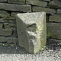 Boundary stone, Woodhead Road, Holme - geograph.org.uk - 1412955.jpg
