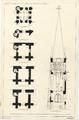 Bouwtekening Dorpskerk (Voorschoten) - Doorsneden van de toren.png