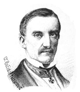Božidar Petranović Austrian member of Empire parliament (Austria empire), historian and lawyer