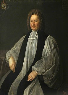George Hooper Bishop of St Asaph, Bishop of Bath and Wells