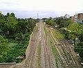 Brahmanbaria Rail Station form the Fly Over by Monir.jpg