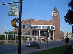 English: Picture of city hall in Brampton