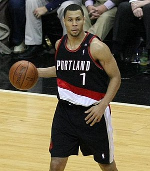 Brandon Roy - Roy with the Trail Blazers in 2008