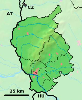 Senec Szenc is located in Bratislava Region