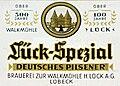 Brauerei zur Walkmühle H. Lück - Lück Spezial Bier.jpg
