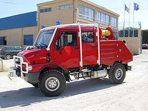 Bremach - Bremach fire engine.