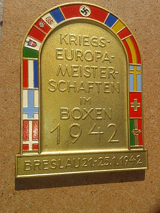 1942 European Amateur Boxing Championships - Commemorative coin of this event.