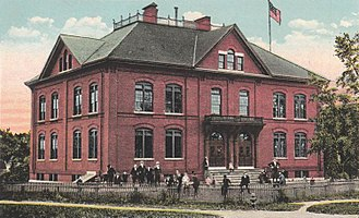 Westbrook, Maine - Old Bridge Street School c. 1920