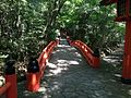 Bridge on sando between Upper Shrine and Lower Shrine of Usa Shrine.JPG
