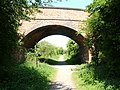 Bridge over Ashby Woulds Heritage Trail at Oakthorpe, Leicestershire.jpg