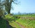 Bridleway at Pond Close Farm - geograph.org.uk - 766891.jpg