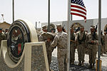 Brigade Headquarters Group - Afghanistan cases unit colors aboard Camp Leatherneck 140725-M-JD595-9567.jpg