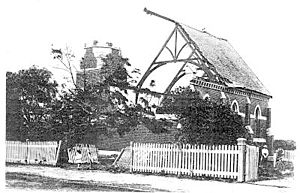 Brighton, Victoria - Aftermath of the Brighton tornado of 2 February 1918. The most damaging storm in Melbourne's history