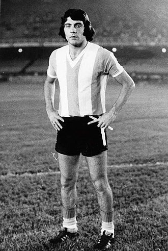 Miguel Ángel Brindisi - Brindisi with the Argentina national team, 1974