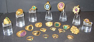 Thetford Hoard - The rings from the hoard
