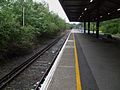 Bromley North stn platform 1 look north.JPG