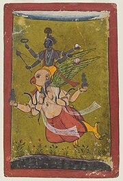 Brooklyn Museum - Vishnu on Garuda