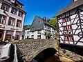 Bruecke uber Rur am Markt in Monschau Bild 1.jpg