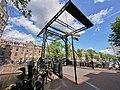 Brug 222 Aluminiumbrug, in de Staalstraat over de Kloveniersburgwal foto 1.jpg
