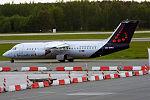 Brussels Airlines, OO-DWG, Avro RJ100 (18246655221).jpg