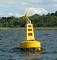 Buoy off Seahill - geograph.org.uk - 920114.jpg