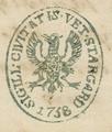 Burg stargard amtsstempel 1860.png