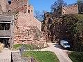Burgruine Wertheim Halsgraben.JPG