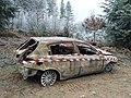 Burned Alfa Romeo automobile (Saint-Just-d'Avray, 2018) 1.jpg
