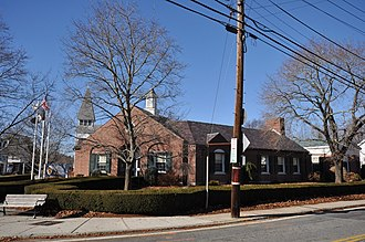 Burrillville, Rhode Island - The town office building