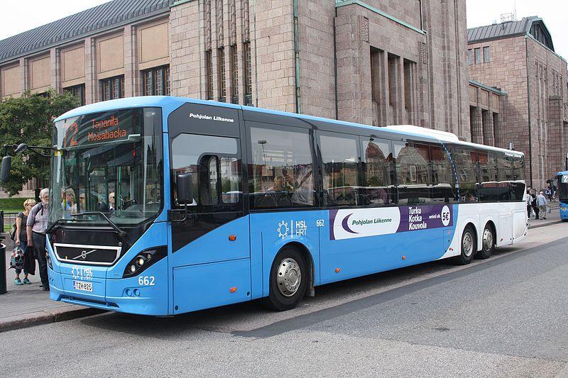 Dicas de transporte público em Helsinque