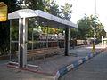 Buss and Bus stop - Khayyam - Nishapur 3.JPG