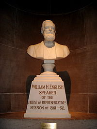 Bust of William H. English.jpg