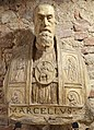 Busto di papa marcello II cervini, scagliola, 1555.jpg