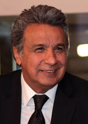 Politics of Ecuador - Current President of Ecuador, Lenín Moreno