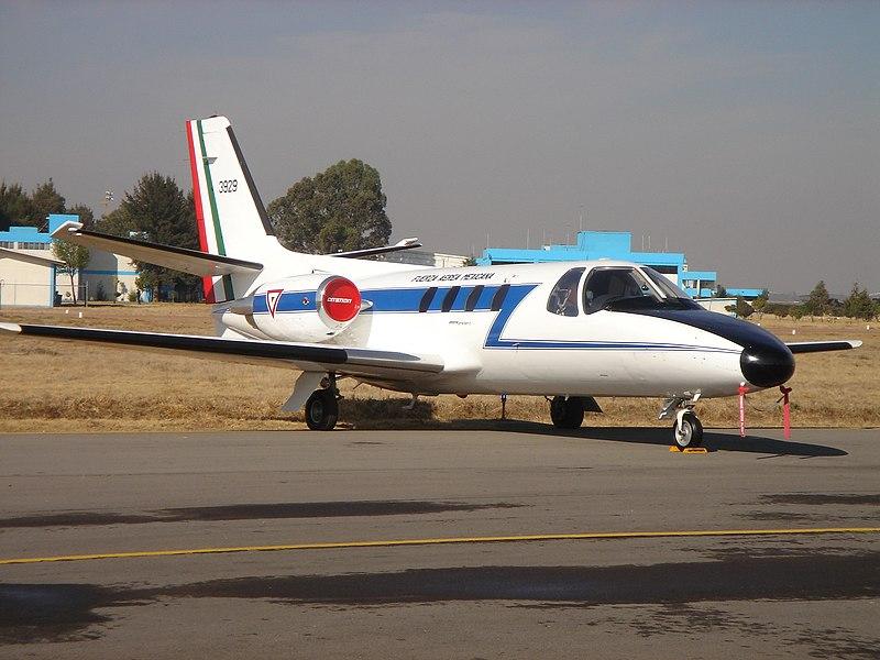 Inventario  de  aeronaves de  la  FAM  ( actualizado 23 Febrero 2016 ) 800px-CITATION_FAM