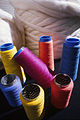CSIRO ScienceImage 2108 OPTIM Dyed Wool Reels.jpg
