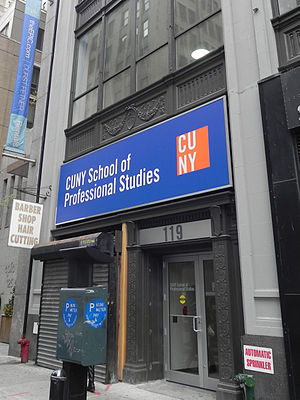 CUNY School of Professional Studies - CUNY SPS campus at 119 W. 31st Street, NYC
