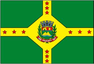 Caçapava - Image: Cacapava bandeira