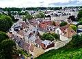 Caen Château de Caen Blick auf die Rue des Terrasses 3.jpg