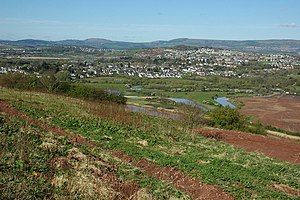 Caerleon viewed from the east - geograph.org.uk - 1253864.jpg