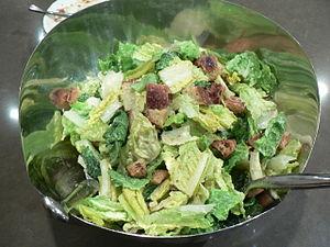 Caesar salad - A simple Caesar salad
