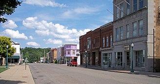 Caldwell, Ohio - Main Street, downtown